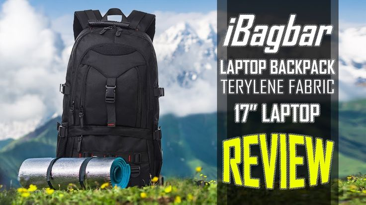 iBagbar Terylene Fabric Laptop Backpack - Review