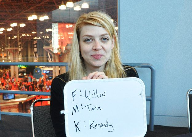 BuzzFeed caught up with Amber Benson at NYCC and we had her play the ultimate game of Fuck Marry Kill.