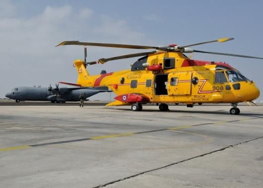 Royal Canadian Air Force AugustaWestland CH-149 Cormorant SAR helicopter & RCAF C-130 Hercules. In Peru to take part in Exercise Cooperación III, a key Latin American multinational exercise. The exercise, which has a focus on disaster relief, took place from April 19 to May 2, 2014.