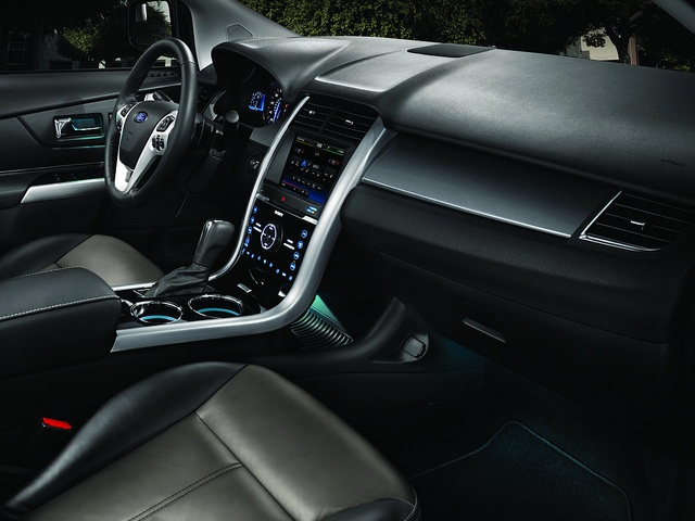 2013 Ford Edge Interior | Ford Edge | Pinterest | Ford Edge, Ford And Cars