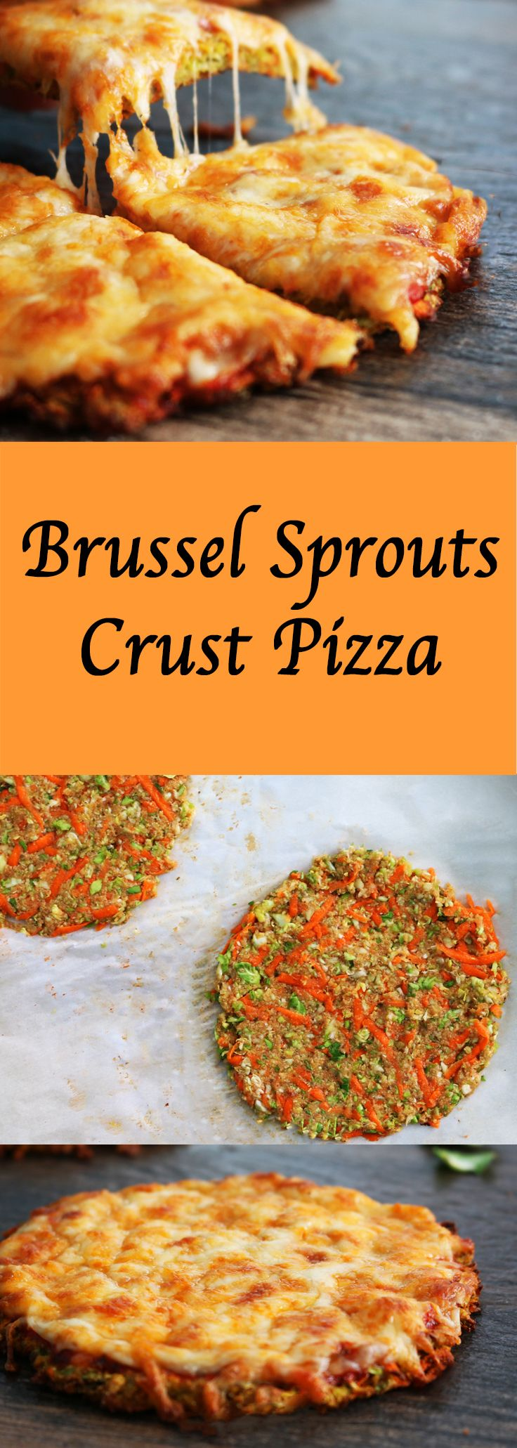 #brusselsprouts #carrot #cheese #pizza #healthypizza #healthy #healthycrust #kidsfriendly #kids #snack #vegetable #veggiepizza #dinner #lunch #friday #tgif http://www.kitchenathoskins.com/2017/02/28/brussel-sprouts-crust-pizza/
