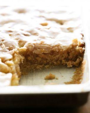 Caramel Apple Sheet Cake   CookJino