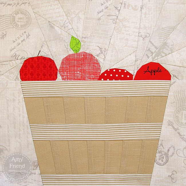 53 best apples for quilt images on pinterest
