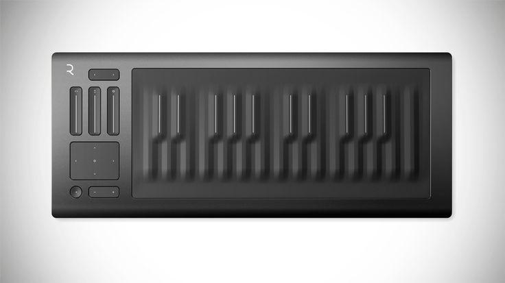 The Roli Seaboard Rise Keyboard just changed the way we make music #music #technology