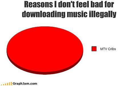 Even though I don't download my music illegally I think this is hilarious.