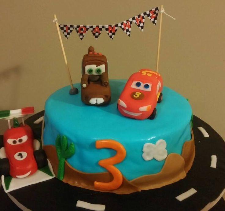 McQueen_Mattel_Franscesco Cake by Konstantina Chalkia & Georgia Mikedi