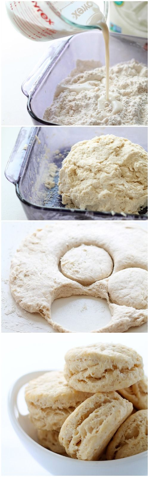 Tender, flaky biscuits are the perfect addition to any meal. This recipe gets a healthy boost from coconut oil in place of the butter! You MUST try this recipe! | LoveGrowsWild.com