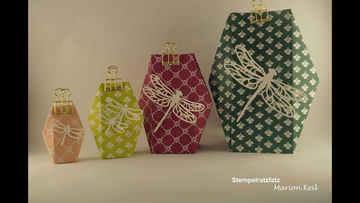 "Verpackung ""Facettenbox"" in verschiedenen Größen"