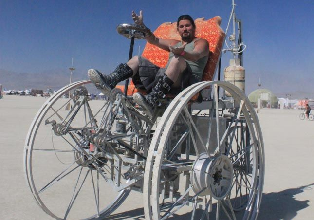 Burning Man 2012 Dates | Thread: Bike for the post-apocalyptic world