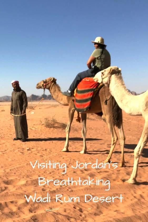 Visiting Jordan's Breathtaking Wadi Rum Desert via @planetblueadv