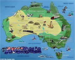 australia illustrated maps - Google Search