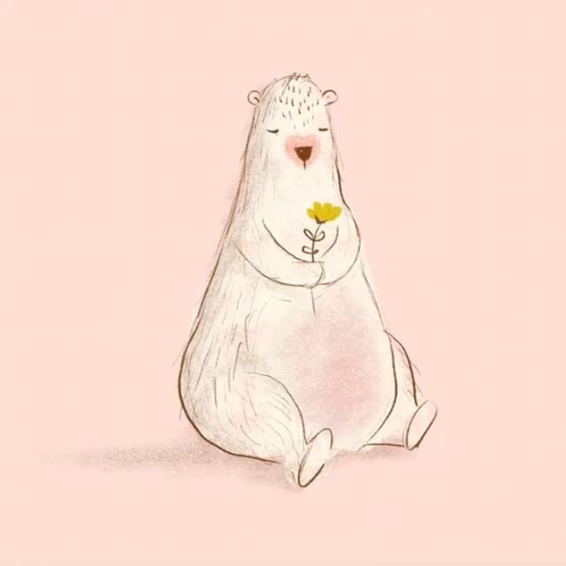 No. 12: Bear  .  Bear's a real softy, he loves flowers, butterflies and cheesecake.   .  Procreate brushes used 6B pencil, artist crayon and charcoal  .  #bear #bearlove #whimsical #childrenart #drawingchallenge #drawing #procreate #texturebrush #art #5minutechallenge #5minutedrawing #illustration #lovemyjob #creative #creativelifehappylife #drawingoftheday #dailypractice #artwork #illustagram #sketch #fastsketch #digitalart #digitalsketch #applepencil
