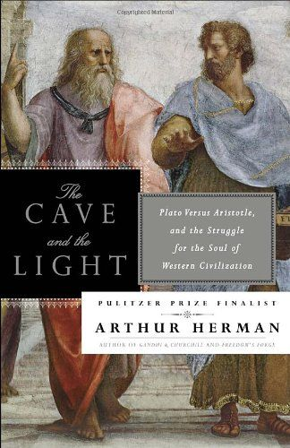 The Cave and the Light: Plato Versus Aristotle, and the Struggle for the Soul of Western Civilization by Arthur Herman http://www.amazon.com/dp/0553385666/ref=cm_sw_r_pi_dp_Ymq3ub0AR12GT