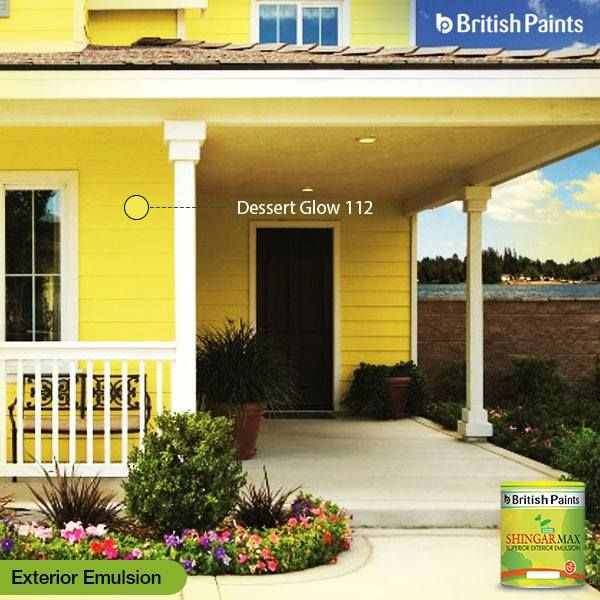 Is it time to update the look of the exteriors? Give your facade a wow-worthy makeover that fits your lifestyle and budget. Shingar Max by British Paints