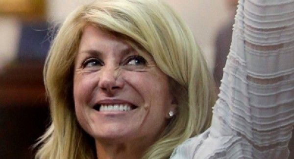 Wendy Davis, Filibuster Queen, hero for womens' rights.