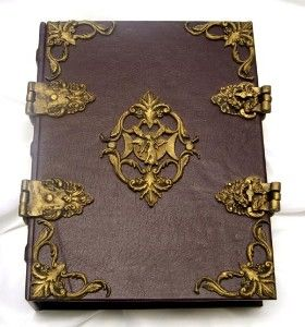 Books of Shadows and Grimoires | FaerieMoon Renaissance Book of Shadows Grimoire