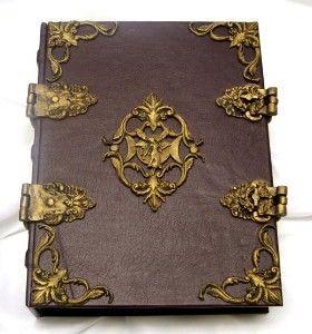 Books of Shadows and Grimoires | FaerieMoon Renaissance Book of Shadows Grimoire