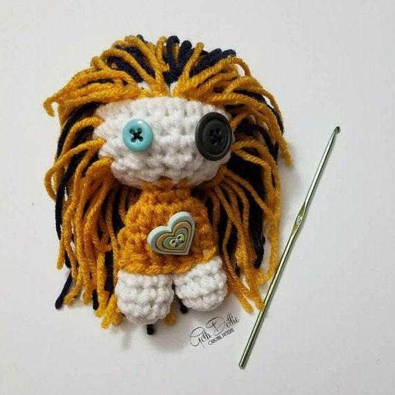 Frankie the Crochet Deer amigurumi pattern: + CROCHET PATTERN FOR ... | 570x570