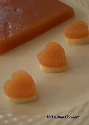 Simplemente Cocinera: Dulce de Membrillo Casero. E idea de presentación de membrillo y queso