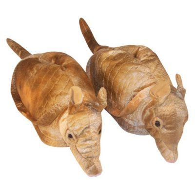 Comfy Feet Armadillo Animal Feet Slippers, Size: Large - 9019-3