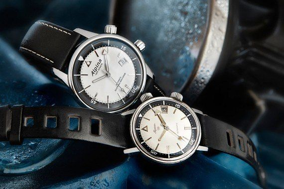 Vintage Eye for the Modern Guy: Alpina Seastrong Diver Heritage