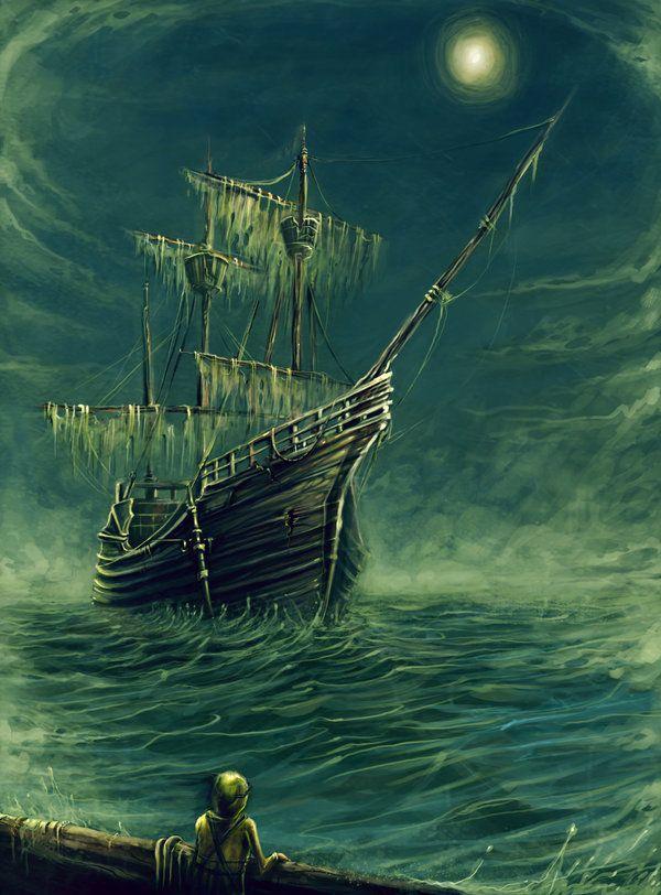 Caleuche, Chilean mythology.