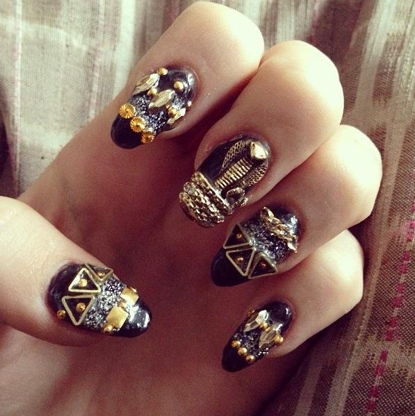 Egyptian Inspired Nails - Best 25+ Egyptian Nails Ideas On Pinterest Matt  Nails, Black - Egyptian Nail Art Graham Reid
