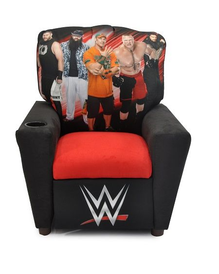 wwe recliner  for sissys wwe room
