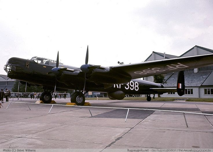 First flight of the Avro 694 Lincoln four-engined heavy bomber 9/6 1944.