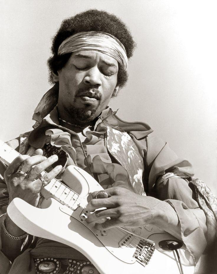 The legendary of jimi hendrix in rock n roll