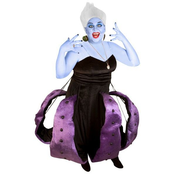 She's mean, she's bad, and she's angry. The Sea Witch is among the scariest villains in the pantheon and our deluxe, plus-sized costume is sure to be a wicked s