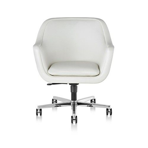 """Bumper™ Conference Chair  I think this is slightly more elegant but the seat adjust only goes to 19"""" and it's 4x the price"""