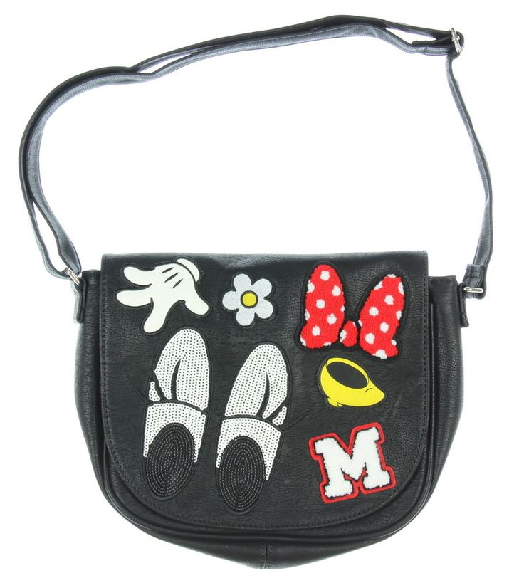 Loungefly Minnie Mouse Patches Crossbody Purse #Loungefly #Bag