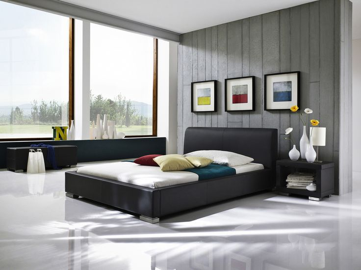 23 best Chambre contemporaine images on Pinterest Contemporary - schlafzimmer betten 200x200