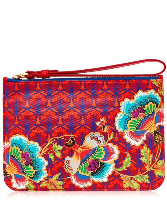 Liberty London Paradise Iphis Wristlet Pouch | Accessories | Liberty.co.uk