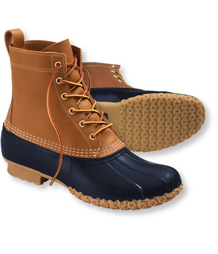 L.L.Bean Boots in Navy...Morgan is ready for winter!