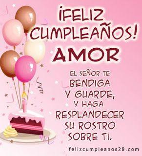 Feliz Cumpleaños Mi Amor #cumpleanos #amor #feliz #amiga