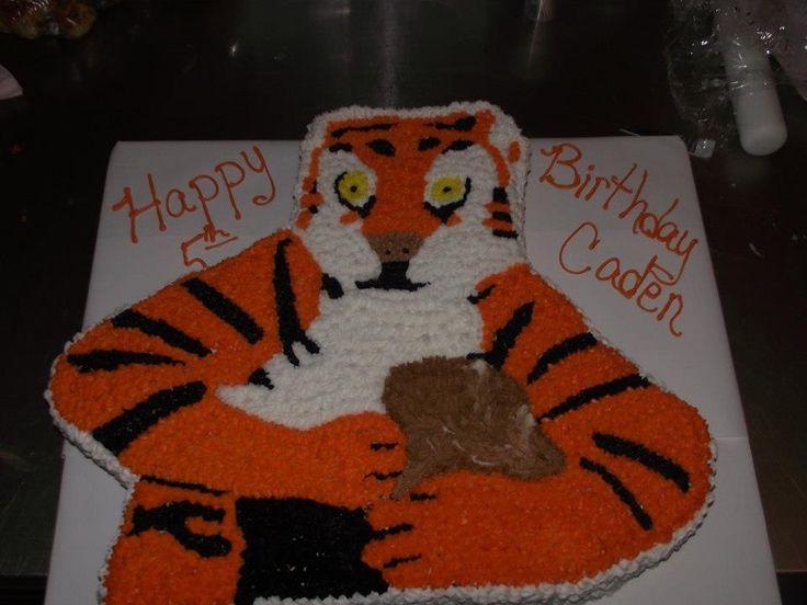 Clemson Mascot Cake