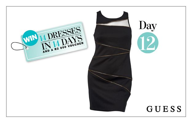 WIN: A Black Body-Con Dress From GUESS