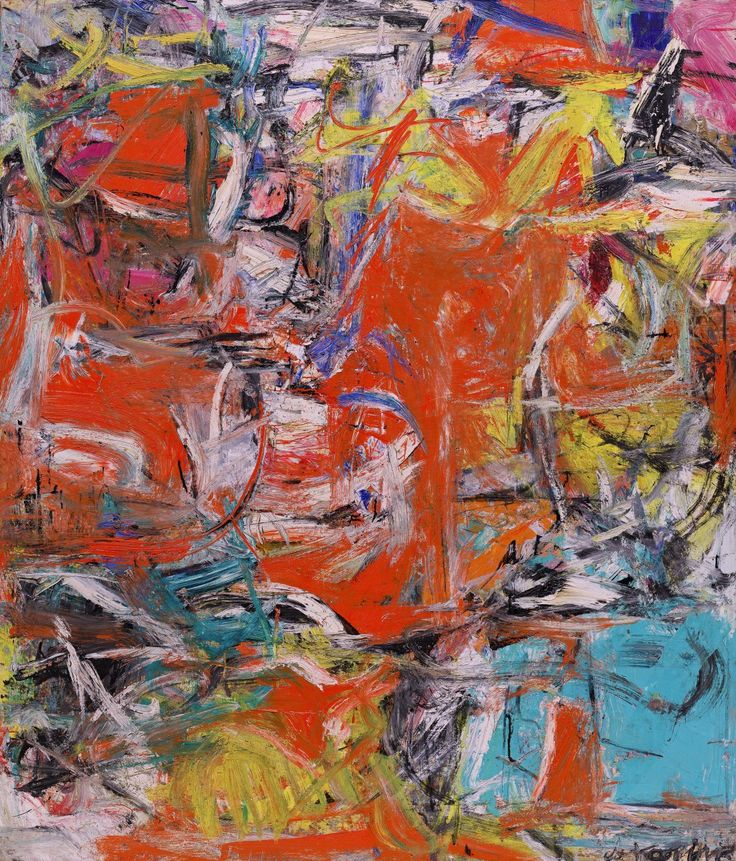 Willem de Kooning, Composition, 1955.