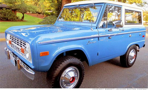 Estimated value: $25,250. The original Bronco, Fords first compact SUV.