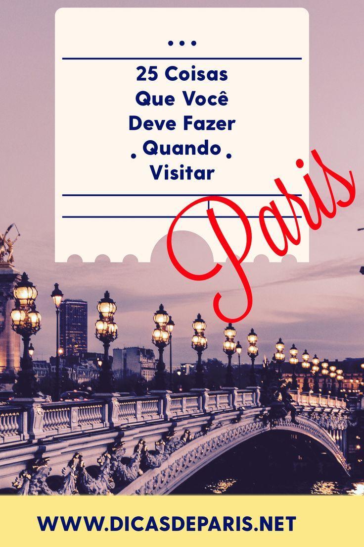 Separei 25 programas imperdíveis para você fazer na sua próxima viagem a Paris. O…   – Viagem | Dicas certeiras