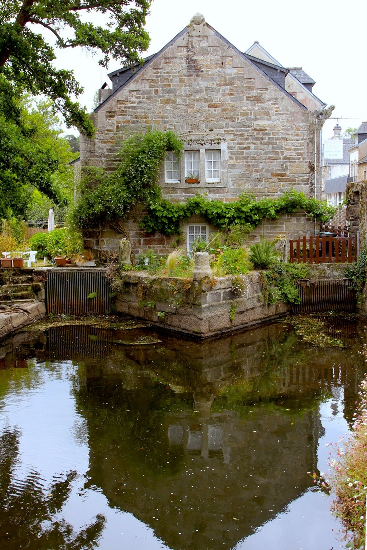 Pont Aven in Brittany, France