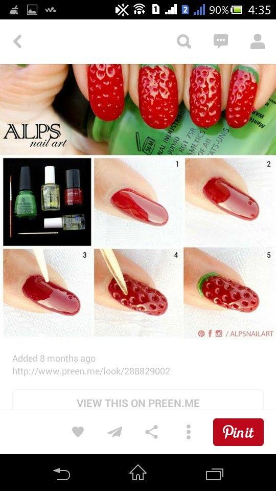 #Strawberry#3D