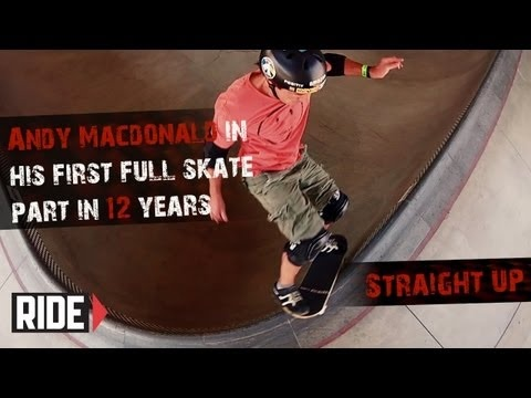 """Andy Macdonald's New 2012 Video Part """"Straight Up"""""""