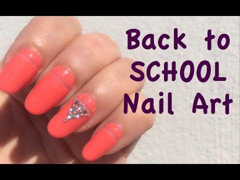 per il rientro a scuola-unghie gioiello! #nailartcomunity  #nailartcommunities