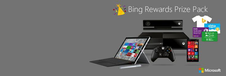 Bing Rewards - Redemption Center