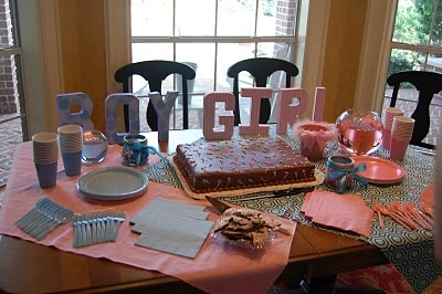 Gender Reveal Party Inspiration