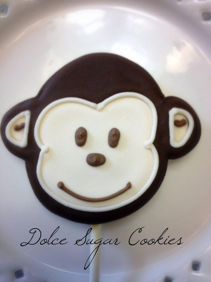 Mod Monkey Animal cookies, Sugar cookies, Food