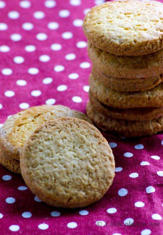 Biscotti al burro salato - Salted butter cookies